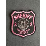 Stanislaus Sheriff Breast Cancer Awareness Patch