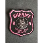Stanislaus Sheriff Breast Cancer Awareness K9 Patch
