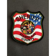 Sheriff American Flag Patch