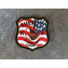 Stanislaus Sheriff K9 American Flag Patch