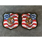 Sheriff American Flag Patches
