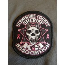 SSK9 Breast Cancer Awareness Patch