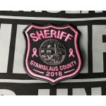Stanislaus Sheriff Breast Cancer Awareness Patch 2018